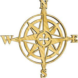 Compass Rose Embellishment