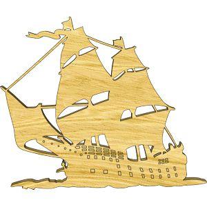 Sailing Ship Embellishment