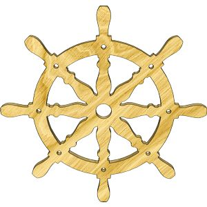 Ships Wheel Embellishment