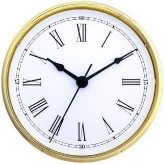 Clock Insert-70mm-Gold-Roman