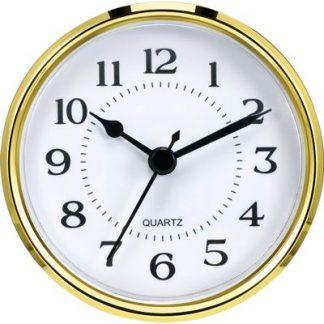 Clock Insert-90mm-Gold-Arabic