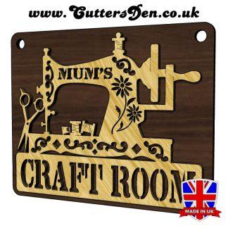 Mums Craft Room Sign