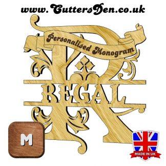 Regal Monogram M