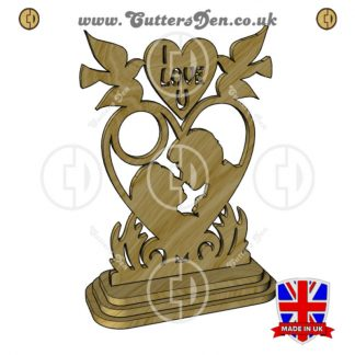 Lovers Clock Stand