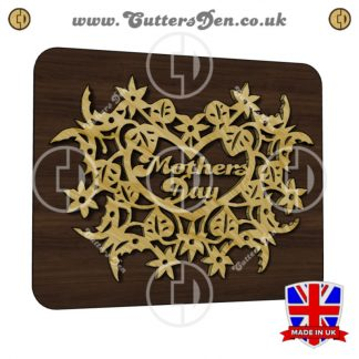 Mothers Day Flowery Plaque