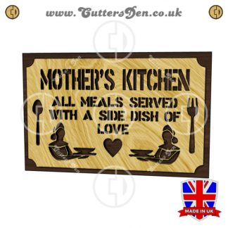 Mothers Kitchen Sign