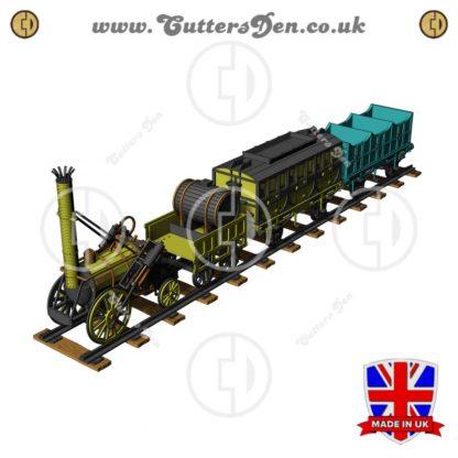 Stephensons Rocket 3D Kit Set
