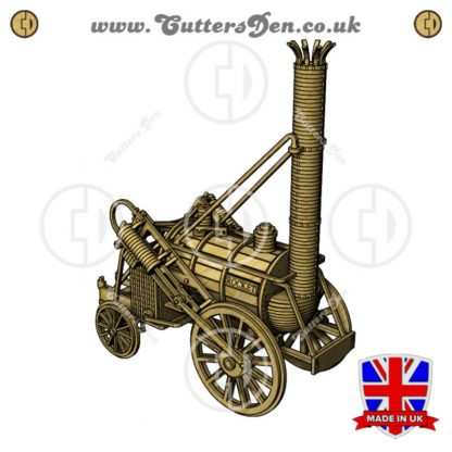 Stephenson's Rocket Locomotive 3D Kit Front