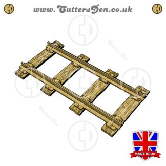Stephenson's Rocket Rail Segment 3D Kit