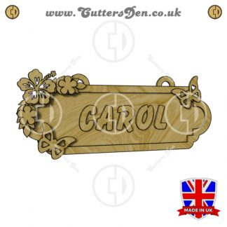 Butterfly Theme Personalised Sign Kit Render