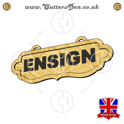 Personalised Ensign Sign Kit