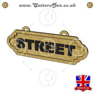 Personalised Street Sign Kit