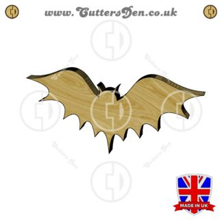 Frightful Bat Embellishment