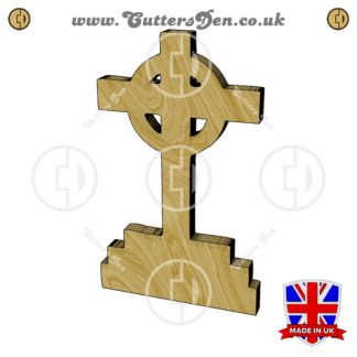 Celtic Cross Headstone Embellishment