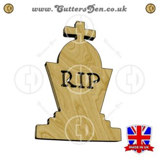 Gravestone Cross Embellishment