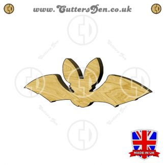 Cartoon Vampire Bat Embellishment