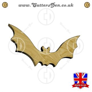 Flaring Bat Embellishment