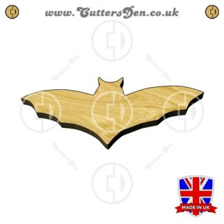 Gliding Bat Embellishment