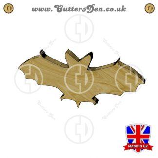 Approaching Bat Embellishment