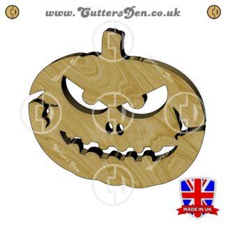 Evil Jack-O-Lantern Embellishment