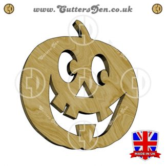 Friendly Jack-O-Lantern Embellishment