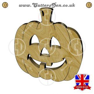 Happy Jack-O-Lantern Embellishment