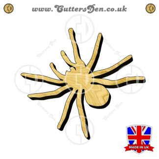 Scary Spider Embellishment