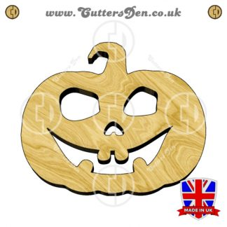 Smiling Jack-O-Lantern Embellishment