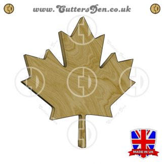 Canadian Maple Leaf Embellishment
