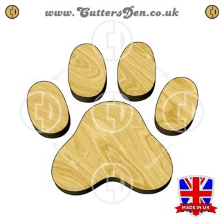 Cat Paw Print Embellishment