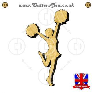 Cheerleader Embellishment