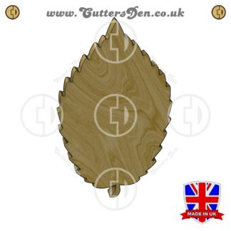 Elm Leaf Embellishment