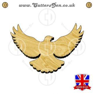 Flying Dove Embellishment