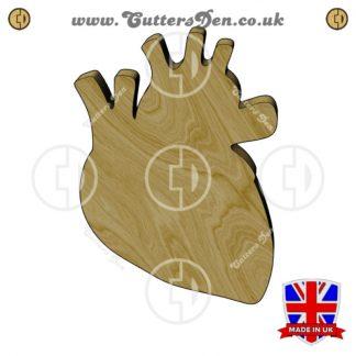 Human Heart Embellishment
