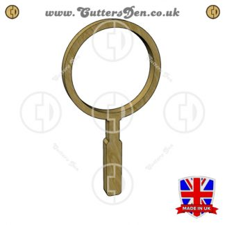 Magnifying Glass Embellishment