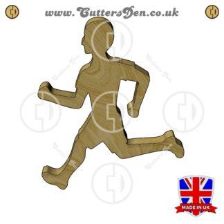 Running Man Embellishment