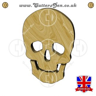Human Skull Embellishment