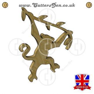 Swinging Monkey Embellishment