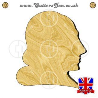 William Shakespeare Bust Embellishment