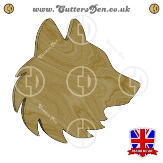 Wolfs Head Embellishment
