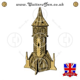 Clocktower Tealight